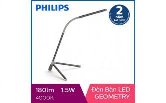Đèn bàn, đèn học sinh chống cận LED Philips Geometry 66046