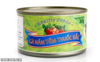 Combo 2 hộp gà nấm tiềm thuốc bắc bổ dưỡng