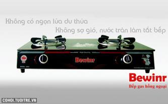 Đổi cũ lấy mới bếp gas hồng ngoại Bewinr BW-680i điếu gang