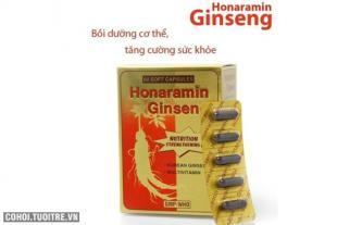 Combo 2 hộp Honaramin Ginseng