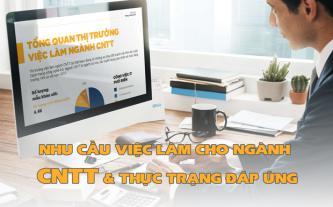 Nhu cầu việc làm cho ngành CNTT và thực trạng đáp ứng