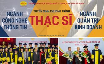 Tuyển sinh đào tạo ngành QTKD, CNTT trình độ thạc sĩ