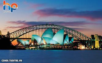 Du lịch nước Úc 7N6Đ