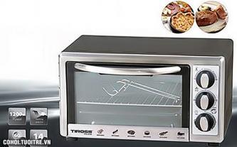 Lò nướng Tiross TS 964, công suất 1.200W