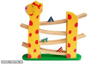 Đồ chơi bằng gỗ Bộ đường trượt con hươu Winwintoys 65092