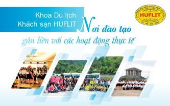Khoa Du lịch - khách sạn HUFLIT - Nơi đào tạo gắn liền với các hoạt động thực tế