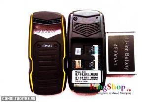 Điện thoại pin khủng Land Rover B36