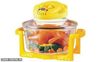 Lò nướng thủy tinh Sunhouse SH412