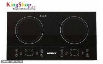 Bếp đôi hồng ngoại Sanaky AT-201HGW
