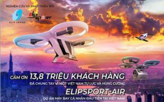 Máy bay cá nhân Elipsport-Air - Khát vọng thế kỷ của Tập đoàn Elip
