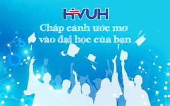 HVUH chắp cánh ước mơ vào đại học của bạn