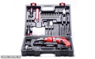 Skil 6613 - Bộ dụng cụ 138 chi tiết + máy khoan