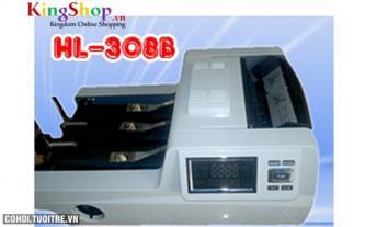 Máy đếm tiền Henry HL 308B - Phát hiện tiền polymer giả