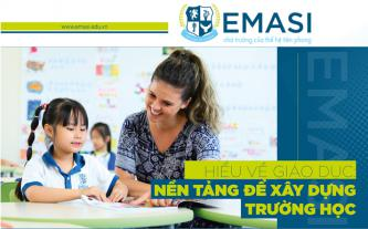 Hiểu về giáo dục - Nền tảng để xây dựng trường học
