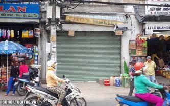 Cho thuê nhà nguyên căn mặt tiền khu Chợ Lớn