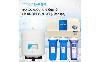 Xả kho máy lọc nước RO KAROFI S-s137 giá từ 3.350.000đ