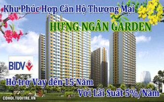 Sở hữu căn hộ Hưng Ngân Garden chỉ với 5.000.000đ/tháng