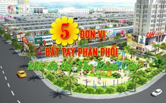5 đơn vị bắt tay phân phối khu đô thị The Eden City