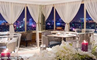 Trải nghiệm không gian ẩm thực lãng mạn với nhiều ưu đãi