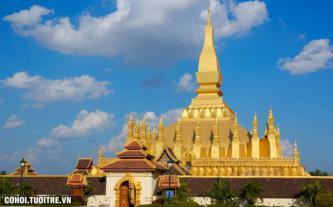 Mùa hè trên xứ sở hoa champa Lào