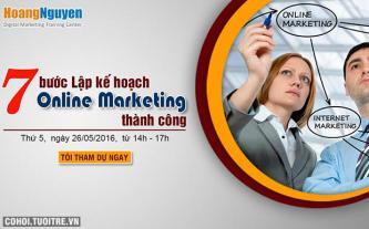 Hội thảo - lập kế hoạch Online Marketing thành công