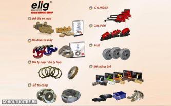 Chuyên sản xuất chất liệu ma sát của hệ thống phanh xe