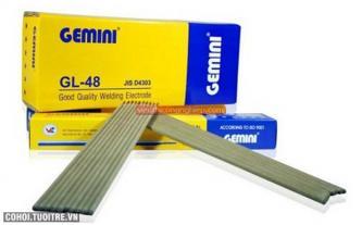 Que hàn sắt thép Kim Tín Gemini GL-48