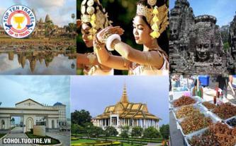 Tour Campuchia - khám phá Siem Reap, Phnom Penh