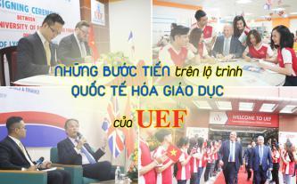 Những bước tiến trên lộ trình quốc tế hóa giáo dục của UEF