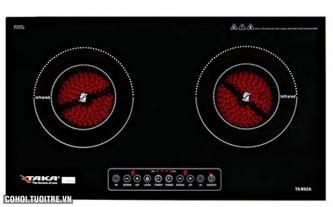 Bếp đôi hồng ngoại Taka TK-R02C