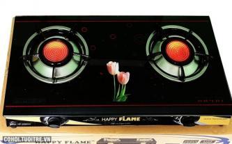 Giảm giá cực sốc bếp gas hồng ngoại Happy Flame