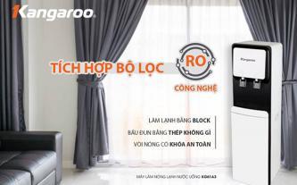 Máy lọc nước R.O nóng lạnh 2 vòi KANGAROO KG61A3 (làm lạnh bằng block)