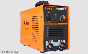 Máy hàn điện tử Jasic ARC200, hàn que 4.0 mm