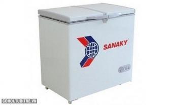 Tủ đông Sanaky VH-225A2, dung tích 200 lít