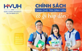 Chính sách dành cho tân sinh viên của HVUH có gì hấp dẫn
