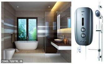 Máy tắm nước nóng Alpha AS-2EP