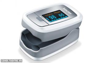 Máy đo khí máu và nhịp tim Beurer PO30