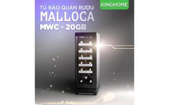 Xả kho tủ bảo quản rượu vang Malloca MWC-20BG