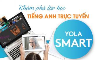 Khám phá lớp học tiếng Anh trực tuyến Yola Smart