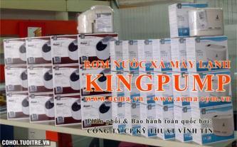 Bơm nước xả dùng cho máy lạnh hiệu Kingpump