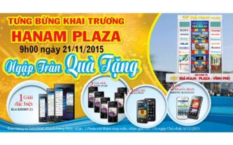 Hanam Plaza tưng bừng khai trương với nhiều ưu đãi