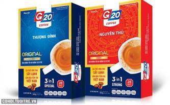 G20Coffee sấy lạnh - miễn phí cho bạn đọc Tuổi Trẻ