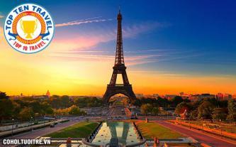 Tour du lịch 3 nước châu Âu giá rẻ