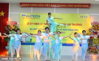 HUTECH tổ chức lễ kỷ niệm 21 năm ngày thành lập
