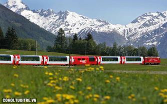 Trải nghiệm Pháp - Thụy Sĩ bằng tàu hỏa