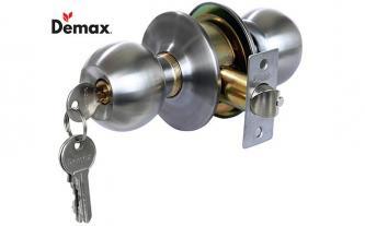 Xả kho khóa tay nắm tròn Demax LK302 SS giá 79.000đ