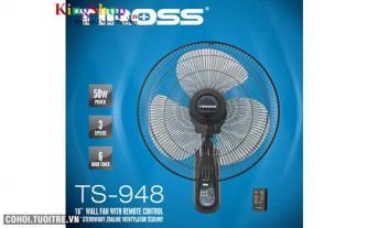 Quạt treo tường 16'' có điều khiển Tiross TS948