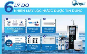 Máy lọc nước FujiE RO-1000 CAB hydrogen 10 cấp độ lọc