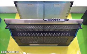 Máy hút mùi bếp 7 tấc inox Kaff KF-701i