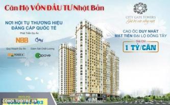 Căn hộ City Gate Towers mặt tiền đường Võ Văn Kiệt